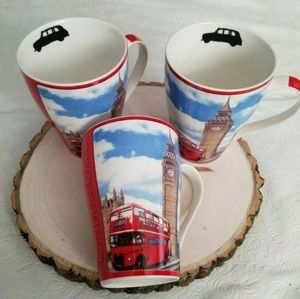 Paul Cardew London Cafe Design 3 Mugs